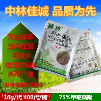 辉丰绿终森草净除草剂75%甲嘧磺隆灭生性 杀树剂 封闭超强正品