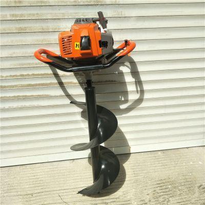 手提式汽油自动挖坑机 种树栽苗打坑机 地钻生产厂家