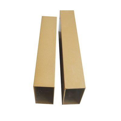 【立广】广东厂家批发0.8*50*100四方管 外墙木纹铝方通
