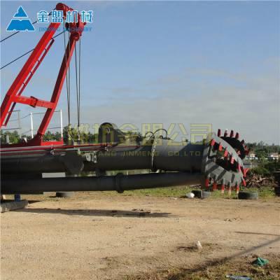 宜宾订做河道环保清淤船的厂家 大型绞吸清淤船有哪几种型号