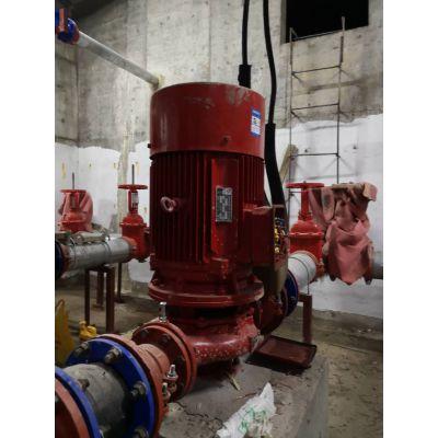 消防泵消防水泵XBD7.6/35-L喷淋泵厂家,消防增压水泵XBD7.4/35-L消火栓泵参数选型