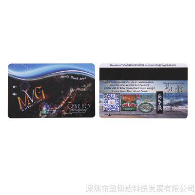 批发价厂家直销VIP贵宾磁条会员卡健身卡PVC卡片打印原装复旦IC卡
