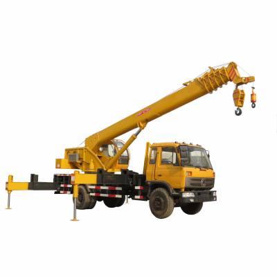 诚信销售12吨汽车吊 双卷扬液压小型汽车吊 工程专用