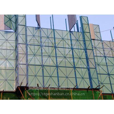 陕西西安现货供应提升架防护网片 高层建筑外架网 塑钢板爬架网