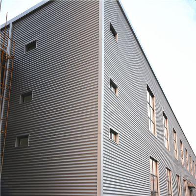 供应江苏 铝镁锰波纹板墙面系统 836型 线下门店装修