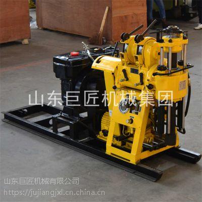 百米液压水井钻机HZ-130Y钻井机柴油机动力专业打岩石