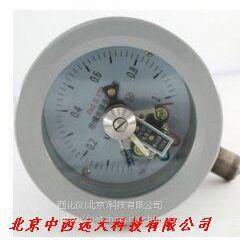 中西DYP 防爆电接点压力表(有防爆证) 型号:TB73-YTX-100B库号:M397383
