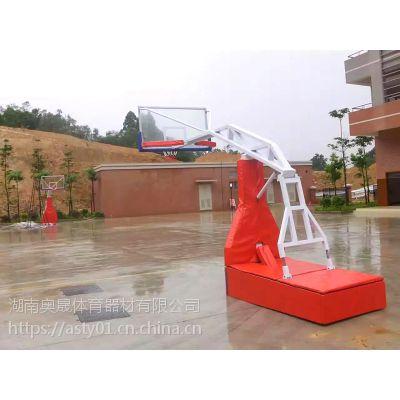 篮球架系列 平箱·凹箱篮球架 海燕式·固定式篮球架·湖南奥晟体育器材