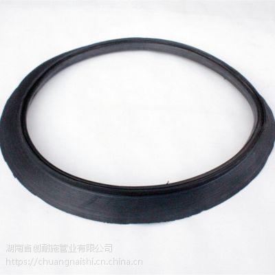 湖南波纹管胶圈的安装方式 波纹管密封圈用和不用的区别 排污管
