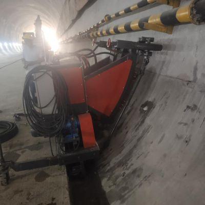 自动行走凿毛机 隧道凿毛机 隧道二衬矮边墙凿毛台车