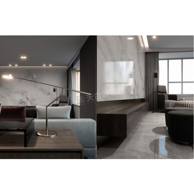 万科御澜山装修|御澜山洋房户型设计|现代轻奢风格