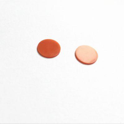 红色硅胶橡胶薄片1毫米厚耐强碱三元乙丙实心膜片异形密封件