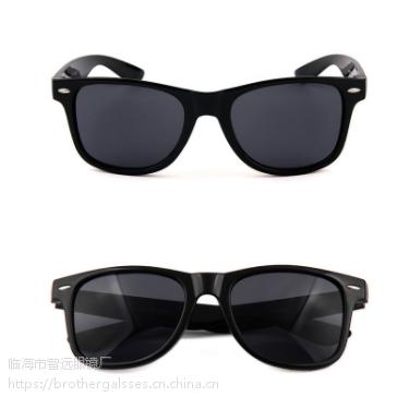 跨境专供欧美促销款米订太阳镜复古眼镜防紫外线墨镜可订制logo