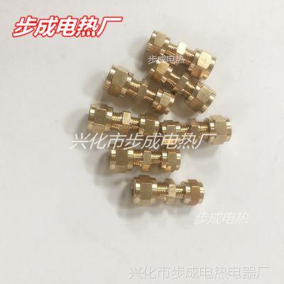 甲醇无风机气化炉专用配件4-6 6-6 卡套配件