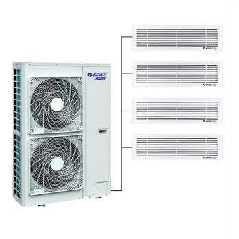 天津格力全直流变频多联机中央空调一拖四家用中央空调