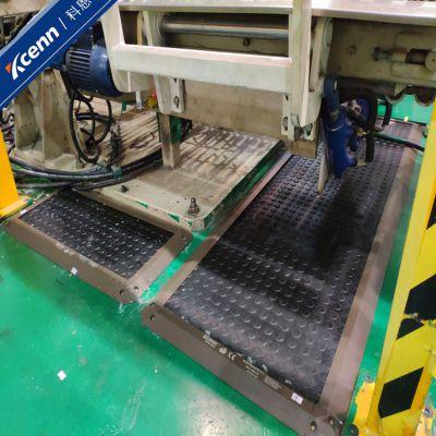 安全地毯橡胶脚踏开关科恩国产工业弯管机机器人工作站地面防护