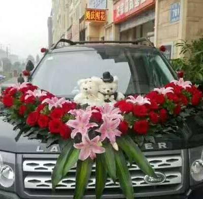创意婚车装饰-东西湖婚车装饰-花卉林婚庆花束(查看)