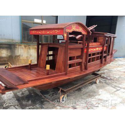定做南湖红船模型博物馆装饰服务类船