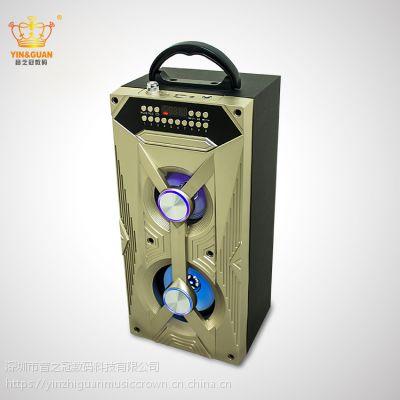 外贸畅销 手提无线蓝牙木质音箱 大功率5W卡拉OK聚会音箱