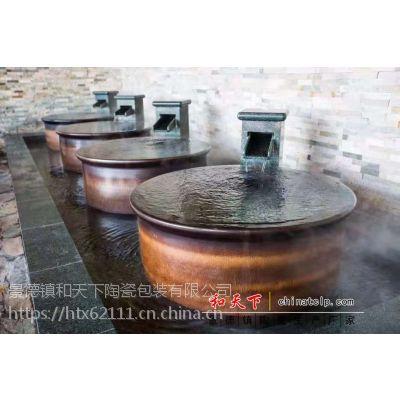 1米3陶瓷洗浴大缸定做景德镇陶瓷泡澡缸生产厂家