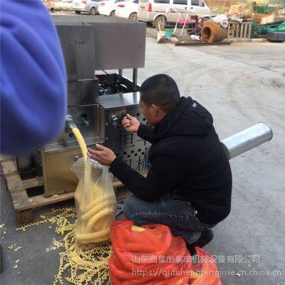 开交流会用静音自动切断十用弯管米花机 单县四缸麻花机经销 热销