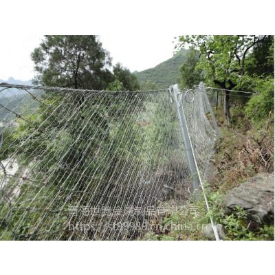 草原养殖围栏网 边框护栏网生产厂家钢丝绳网 铅丝石笼网等批发厂家