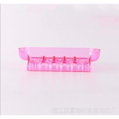 塑料香皂盒带吸盘13*9*3.5多色35g外贸爆款生活用品收纳新品