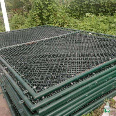排球场围网 篮球场护栏网 训练场勾花护栏
