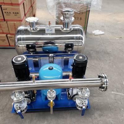 供应不锈钢无负压供水设备 管网叠压生活变频恒压给水设备