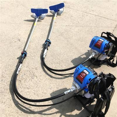 小型四冲程汽油背负式除草机 多功能除草松土开沟机厂家价格图片