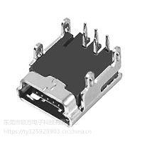 MINI/MICRO USB 连接器 CZ-520 外形尺寸:9.8mm*8.1mm*3.9mm
