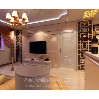 深圳波浪板厂家专业定制现代风室内背景墙装饰商铺形象装饰板