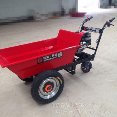 窄轮距的三轮手推斗车 果园摘果装车运输车 奔力 BL-HDC-2