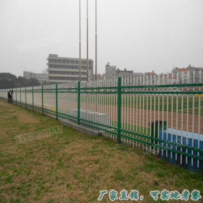 直销 珠海高档别墅外墙围栏 喷塑铁艺护栏 中山公园方管栅栏