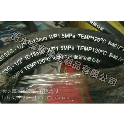 钢丝增强树脂管现货供应@树脂全塑管【宝宸】