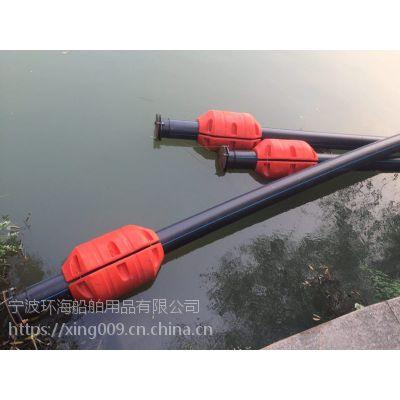 水上管浮定制 钢丝软管浮筒 夹抽沙管子浮桶