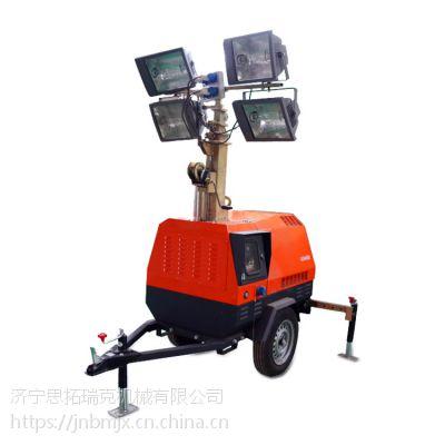 夜间施工灯车 移动式应急照明灯车 拖车式照明灯塔 出口照明车贴牌代加工厂家