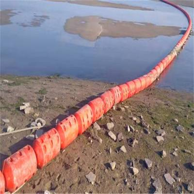 山区电站拦污漂浮筒 贵阳水电厂拉垃圾漂浮排