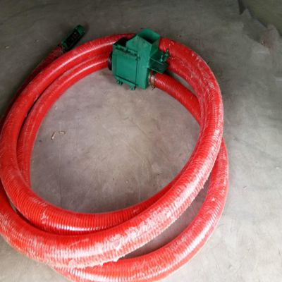 3-6吨软管吸粮机销售价格车载式提升机型号山东吸粮机厂家