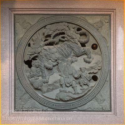 热销直供惠安石雕浮雕板精雕青石寺庙古建浮雕雕刻
