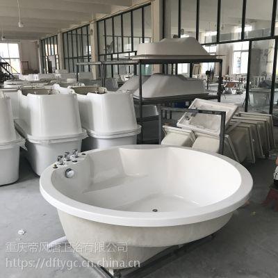 哪里有浴缸批发搓澡桶酒店沐浴盆生产家用搓澡盆定制浴缸厂