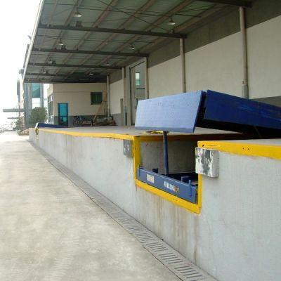 8吨固定式登车桥 电动升降卸货平台 月台高度调节板生产厂家