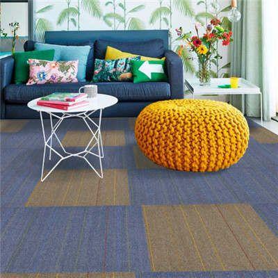 郑州厂家直销定制腈纶地毯铺装/羊毛工程酒店KTV地毯
