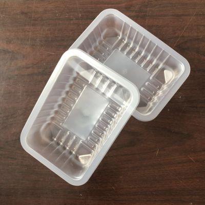 直销一次性鸭脖塑料盒,pp生鲜食品塑料托盘