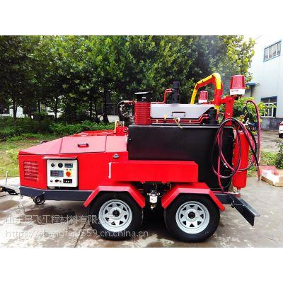 山东晟飞现货供应小型路面沥青灌缝机,60L/100L沥青路面手推式灌缝机