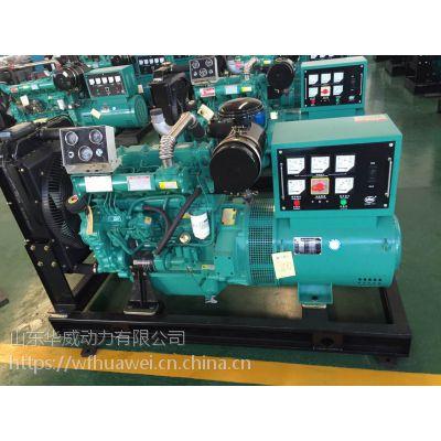 河南郑州50KW发电机组 配ZH4105ZD柴油机 小型养殖用50千瓦发电机组