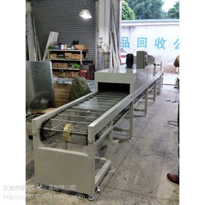 福建五金制品厂喷油线 厦门高温丝印拉 塑料硅胶烤干线YL供应