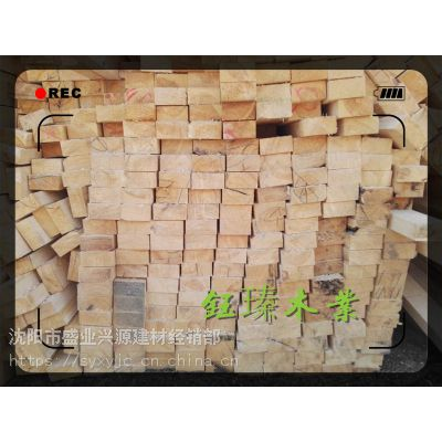 鞍山樟松防腐木方木材板材方木工程