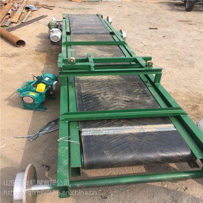玉米大豆装车传送带 物料传送带浩发厂家