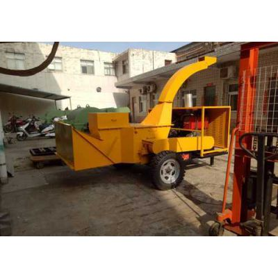 哈尔滨1200型可移动树皮粉碎机设备安全稳定厂家热情服务